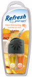 Energizer Battery 09824 Car Air Freshener, Vent Clip, Adjustable Oil Wick With Pina Colada/Mango Mandarin Scents