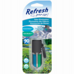 Energizer Battery 09850 Car Air Freshener, Vent Clip, Adjustable Oil Wick With Alpine Meadow/Summer Breeze Scents