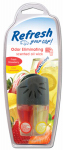 American Covers 09852 Car Air Freshener, Vent Clip, Adjustable Oil Wick With Fresh Strawberry/Cool Lemonade Scents