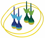 Franklin Sports Industry 13008 Soft Tip Target Toss Set