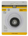Disston 160351 Cutoff Wheel, 1.5-In. x 1/16-In. x 3/8-In.