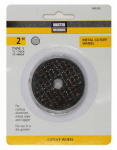Disston 160352 Grinding Wheel, 3-Pk., 2-In. x 1/8-In. x 3/8-In.