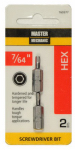 "Disston 160377 MM 7/64"" Hex Key 1"" Bit"