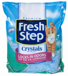 Clorox The 03073 Cat Litter, Crystals, 4-Lbs.