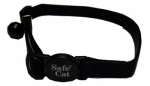 Coastal Pet Products 07001 A BLK12 Cat Collar, Adjustable, Black, 12-In.