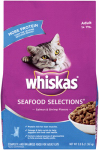 Mars Petcare Us 10095384 Cat Food, Seafood Selections, 3-Lb. Bag