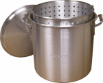 Metal Fusion KK80 Steamer Pot with Basket, Aluminum, 80-Qt.