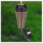 Lamplight Farms 1112149 Island King Flame Torch, 6-Ft.