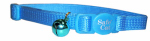 Coastal Pet Products 07001 A BLL12 Cat Collar, Adjustable, Blue Lagoon, 3/8 x 12-In.