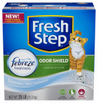 Clorox The 30466 Cat Litter, Odor Shield, Scoopable, Scented, 25-Lbs.