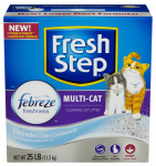 Clorox The 30468 Cat Litter, Multi-Cat Scoopable, Scented, 25-Lbs.
