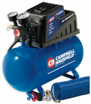 Campbell Hausfeld FP209000DI Air Compressor, Horizontal, 110 PSI, 2-Gals.