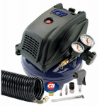Campbell Hausfeld FP260000DI Pancake Air Compressor, 125 PSI, 1-Gal.