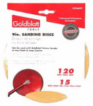 Goldblatt Industries G25642 Vortex Drywall Sandpaper, 120-Grit, 9-In., 15-Pk.