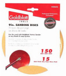 Goldblatt Industries G25643 Vortex Drywall Sandpaper, 150-Grit, 9-In., 15-Pk.