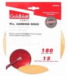 Goldblatt Industries G25644 Vortex Drywall Sandpaper, 180-Grit, 9-In., 15-Pk.