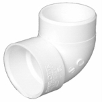 "Genova Products 72915 1-1/2""90 PVC VentElbow"