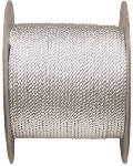 Wellington Cordage 10987 Nylon Rope, Silvery White, 5/16-In. x 600-Ft.