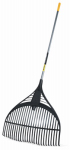 Ames Companies The 1919200 Leaf Rake, Poly Tines, 60-In. Vinyl-Coated Steel Handle