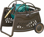 Ames Companies The 2517000 Reeleasy Hose Cart, Decorative Metal, 150-Ft.