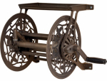 Ames Companies The 2398110 Reeleasy Hose Cart, Antique Bronze Aluminum, 125-Ft.