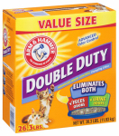 Church & Dwight 02297 Cat Litter, Double-Duty, Clumping, 26.3 Lbs.