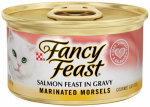 American Distribution & Mfg 25660 Cat Food, Marinated Salmon, 3-oz. Can