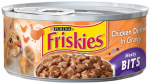 American Distribution & Mfg 42194 Cat Food, Meaty Bits Chicken, 5.5-oz. Can