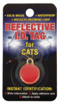 Coastal Pet Products 45000 A REDCAT Cat I.D. Tag, Reflective, Brass