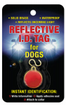 Coastal Pet Products 45000 A REDDOG Dog I.D. Tag, Reflective, Brass