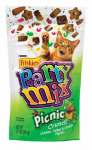 American Distribution & Mfg 57442 Cat Treats, Picnic Party Mix, 2.1-oz. Pouch