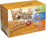 American Distribution & Mfg 57806 Cat Food, Gravy Sensations, 3-oz. Pouch, 12-Ct.
