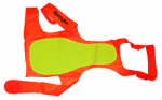Coastal Pet Products R1900 ORGLRG Sporting Dog Vest, Yellow/Orange, Large