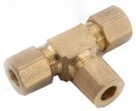 """Anderson Metals 750064-03 3/16"""" Brass CMP Tee"""