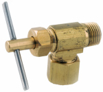 Anderson Metals 759103-0402 Needle Valve, 90-Degree, 1/4-In. Compression x 1/8-In. MIP
