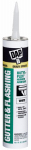Dap 27062 Gutter/Flashing Sealant, White, 10.1-oz.