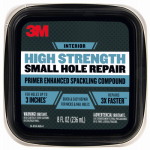 3M PPP-8-BB Spackling Patch Plus Primer, 8-oz.