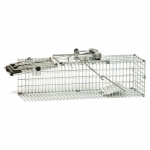 Woodstream 1082 Cage Trap, Easy Set, 17.6 x 6 x 7.4-In.