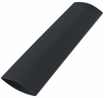 Gardner Bender HST-500B Heat Shrink Tubing, 1/2-In. - 1/4-In., Black, 3-In.; 3/Clam, 5 Clams/Master