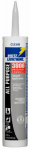 White Lightning Product WL30067 3006 Adhesive Caulk, All-Purpose, Clear, 10-oz.