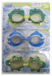 Aqua Leisure Ind AQG0450IP Animal Face Goggles, Ages 4+