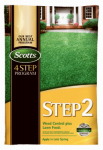Scotts Lawns 23615 Lawn Pro Step 2 Weed Control Plus Fertilizer, 5,000-Sq. Ft. Coverage