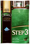 Scotts Lawns 33040 Lawn Pro Step 3 Lawn Fertilizer With 2% Iron, 32-0-4, 5,000-Sq. Ft. Coverage