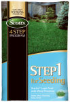 Scotts Lawns 36905 Step 1 for Seeding, Starter Lawn Food with Weed Preventer, Covers 5,000 Sq. Ft.
