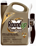 Scotts Ortho Roundup 5101910 Extended Control Weed & Grass Killer, 1-Gal. Ready-to-Use Wand Spray
