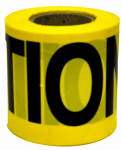 Hanson C H 16100 Caution Tape, Weatherproof, Yellow, 3-In. x 300-Ft.