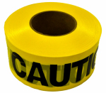 "Hanson C H 19000 ""Caution"" Tape, Yellow, Waterproof, 1,000-Ft."