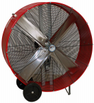 Ventamatic BF42BDRED Drum Fan, Industrial, 2-Speed, 42-In.