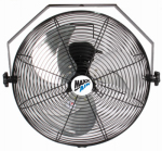 Ventamatic HVWM18 Wall-Mount Fan, 18-In.