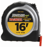 Johnson Level & Tool 1806-0016 Job Site Power Tape Measure, Magnetic Tip, 1-1/16 In. x 16-Ft.